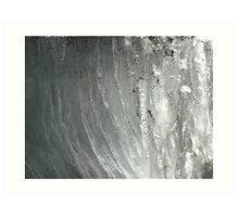 River Ice (Red River Flood 2009) Art Print