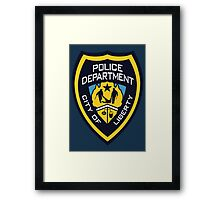 LCPD - Liberty City Police Department Framed Print