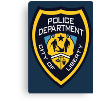 LCPD - Liberty City Police Department Canvas Print