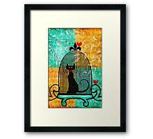 Bad Kitty! Framed Print