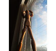 Window sill dancer Photographic Print