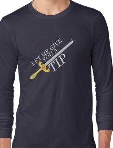 Let Me Give You a Tip - Super Smash Bros. [Fire Emblem] Long Sleeve T-Shirt