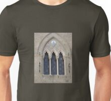 GOTHIC ARCHED WINDOW Unisex T-Shirt