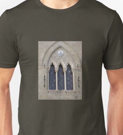 GOTHIC ARCHED WINDOW Unisex T-Shirt