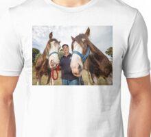 Clydesdales 01 Unisex T-Shirt