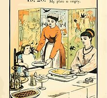 The Buckle My Shoe Picture Book by Walter Crane 1910 29 - Nineteen Twenty My Plate is Empty by wetdryvac