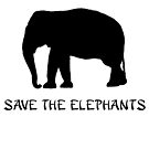 Save the Elephants by 321Outright