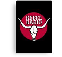 Rebel Radio Canvas Print