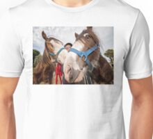 Clydesdales 02 Unisex T-Shirt