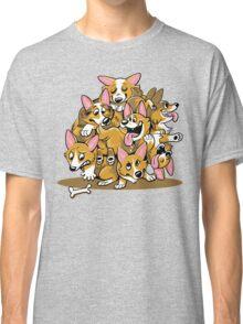 Corgi Cluster Classic T-Shirt