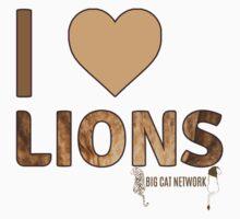 I Love Lions Kids Clothes