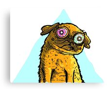 Spaced Out Pug Canvas Print