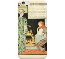 Cinderella Picture Book containing Cinderella, Puss in Boots, and Valentine and Orson Illustrated by Walter Crane 1911 10 - Daughter Dear iPhone Case/Skin