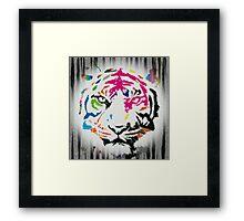 Art tiger Framed Print