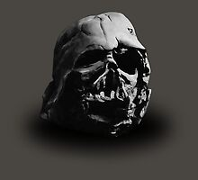 Darth Vader's Ruined Helmet by drholapanda