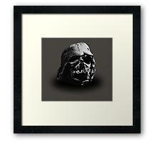 Darth Vader's Ruined Helmet Framed Print