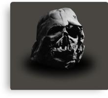 Darth Vader's Ruined Helmet Canvas Print