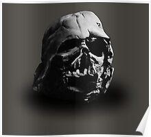 Darth Vader's Ruined Helmet Poster