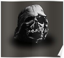 Darth Vader's Ruined Helmet Poster