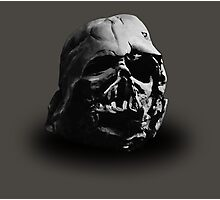 Darth Vader's Ruined Helmet Photographic Print