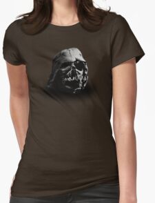 Darth Vader's Ruined Helmet Womens Fitted T-Shirt
