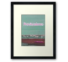 Provincetown Tee Framed Print