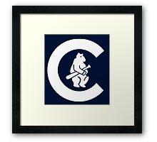 1908 Cubs Logo Framed Print