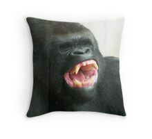 Yawn! Boring!! Throw Pillow