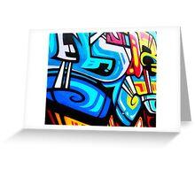 graffiti 1 Greeting Card