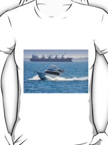 Off to Rottnest -  A View From The Rottnest Express T-Shirt