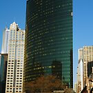 333 Wacker Building Side View by Adam Bykowski