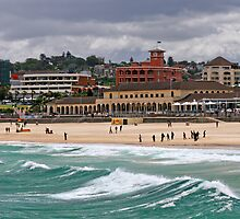 Bondi Beach by Barbara Gordon