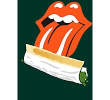 ROLLING STONED Photographic Print