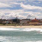 Bondi Beach Panorama by Barbara Gordon