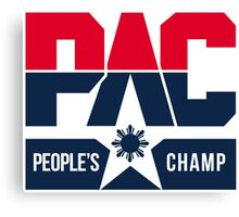 PAC People's Champ Dream Team by AiReal Canvas Print