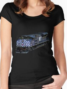 Montana Rail Link Women's Fitted Scoop T-Shirt