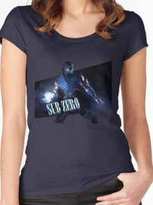 Mortal Kombat - Sub-Zero Women's Fitted Scoop T-Shirt