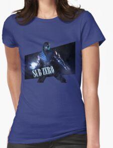 Mortal Kombat - Sub-Zero Womens Fitted T-Shirt