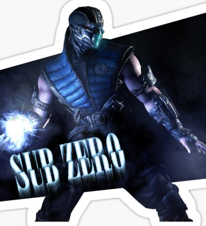 Mortal Kombat - Sub-Zero Sticker