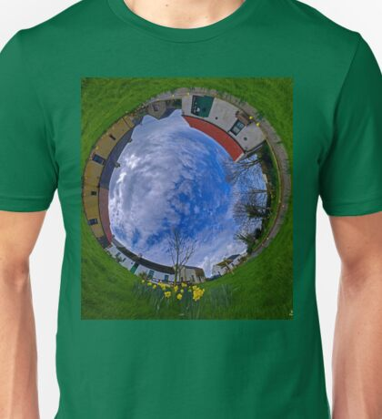 Hanna's Close, County Down (Sky In) Unisex T-Shirt