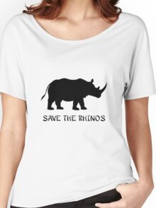 Save the Rhinos Women's Relaxed Fit T-Shirt