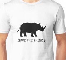 Save the Rhinos Unisex T-Shirt