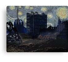 FUTURE STARRY NIGHT? Canvas Print