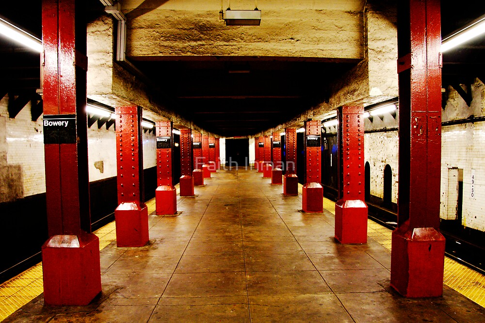 Underground Matrix by Faith Inman