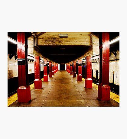 Underground Matrix Photographic Print