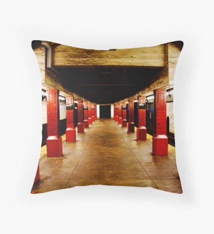 Underground Matrix Throw Pillow