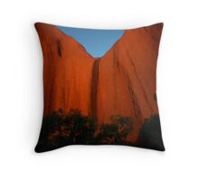 Inside Uluru Throw Pillow
