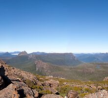 Du Cane Range Panorama by Travis Easton