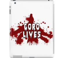 GORO LIVES iPad Case/Skin