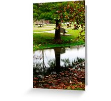 Mirror of Nature Greeting Card